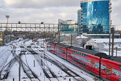 Moscow industrial (GlebLv) Tags: 7dwf sony a6000 minoltaaf35704 landscape moscow industrial aeroexpress inexplore