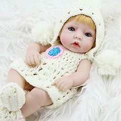 12 -Inch Soft Body Play Doll Vinyl Silicone Lifelike Sound Laugh Cry Real Newborn Baby Doll for Boys Girls Birthday Gift (11 inch white) (saidkam29) Tags: baby birthday body boys doll gift girls inch laugh lifelike newborn play real silicone soft sound vinyl white