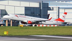 OE-LWP (AnDyMHoLdEn) Tags: austrian embraer lufthansagroup staralliance egcc airport manchester manchesterairport 23r