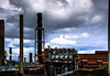 Heavy Industry - DSC04875hdr (cleansurf2 Urbex) Tags: heavy industry industrial ilce a6000 sony steel widescreen wallpaper photography urban texture toned rustic emount worn screensaver scale structure building machinery metal