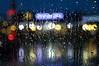 One more of that rainy night... (Raquel Borrrero) Tags: rain city lights drops raindrops rainy night window lluvia gotas luces noche nikon ventana streets streetlight