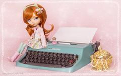 Dottie - Pullip Dorothy (Candie Dolls ♡) Tags: asiandoll asianfashiondoll fashiondoll pastelcolor pastelpink pastel adorable adorabledoll adorablepullip groovedoll groove junplanningdoll junplanning pullip pullipdoll pinkdoll pinkcute pinkpullip pinkbackground pink pullipdorothy kawaii kawaiidoll kawaiipullip cute cutedoll cutepullip typewriter cutetypewriter