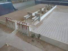 The former Great Temple of Aten (Aidan McRae Thomson) Tags: amarna egypt ancient egyptian model reconstruction temple