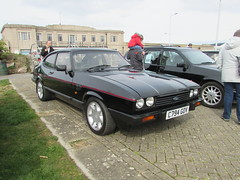 Ford Capri 2.8 Injection Special C794GOV (Andrew 2.8i) Tags: westonsupermare weston car cars classic classics show meet german hot hatch hatchback coupe sports sportscar v6 cologne mark 3 mk mk3 special injection 28 capri ford uk unitedkingdom