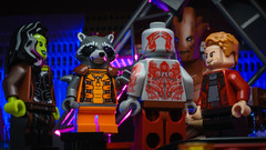 """""""Well now I'm standing. Happy? We're all standing now. Bunch of jackasses, standing in a circle."""" (Alan Rappa) Tags: afol disney drax gamora groot guardiansofthegalaxy lego marvel minifigs minifigure minifigures rocketraccoon sonya6300 starlord toyphotography toytography tweetme"""