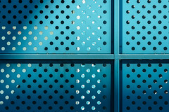 點線面 (游萬國) Tags: 光影 線 line dot 點 面 藍 blue