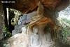 Cave Carvings, Phnom Santuk Mountain (Travolution360) Tags: phnom santuk mountain cambodia cave carvings rock stone holy hill pilgrim kampong thom xes nature travel kambodscha cambodge statue