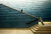 Blanton Staircase (minus6 (tuan)) Tags: minus6 leicam10 elmarit 28mm austin texas blantonmuseumofart