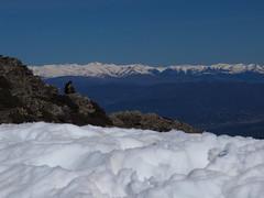 P4010142cpy (Mireia Ciria) Tags: nature naturaleza think pensar pensamiento man men hombre mountain snow