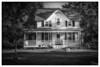 The Midwest (Dennis Herzog) Tags: buildings residence houses midwest illinois farm farmhouse farmhouses blackandwhite monochrome rural