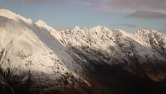 The Snowy Notched Ridge (Russell-Davies) Tags: glencoe hiking climbing snow winter aonacheagach ridge lochaber munro canon 6dmkii uk scotland highlands ambodach ballachulish
