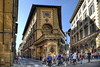 Florence (Jan Kranendonk) Tags: florence firenze italy italian europe buildings houses architecture renaissance landmark sky stone medieval travel tourism street city crowd crowded busy historical people crossing corner hdr