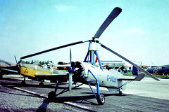 G-ACUU   Avro 671 (Cierva C.30A) [726] Staverton~G 06/06/1976 (raybarber2) Tags: 726 airportdata approachtodo cn726 egbj flickr gacuu gyrocopter johnbabbagecollection slide ukcivil
