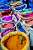 Dyes (Shutterbugsafari) Tags: chefchaouen morocco africa travel colors dye powder outdoors indigo culture paint city purple red yellow sack pigment colorful nopeople colorimage powderdye dyes bazaar bag sacks multicolored northmorocco