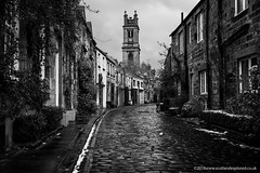 Circus Lane (Damon Finlay) Tags: nikon d750 nikond750 tamron 2470 f28 tamron2470f28 edinburgh scotland monochrome black white blackandwhite silver efex pro 2 silverefexpro2 nik collection nikcollection stockbridge circus lane circuslane
