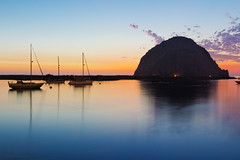 Sunset at Morro Rock (ms-images) Tags: usa roadtrip morro bay rock sunset california pacific coast highway1 1835mm morrorock morrobay pacificcoast