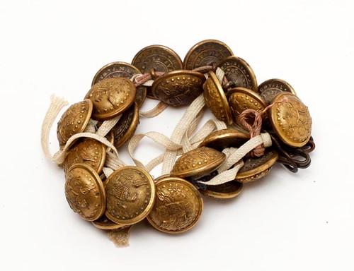 Civil War Era Button Bracelet ($336.00)