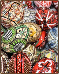 Easter painted eggs from the Romanian villages (1) (Ioan BACIVAROV Photography) Tags: easter eggs egg ouarosii eastereggs pastefericit paste romanian villages art paint colourful religion tradition resurrection jesus christian symbol orthodox church