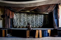 I love you still among these cold things (sadandbeautiful (Sarah)) Tags: me woman female self selfportrait abandoned stage theater abandonedresort
