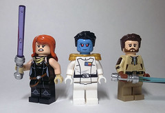 Legends (Catanas) Tags: lego star wars expanded universe mara jade grand admiral thrawn kyle katarn heir empire dark forces jedi