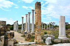 Ruins of Salamis, Cyprus (M McBey) Tags: cyprus roman salamis ruins columns ancient