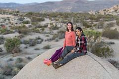 Randi & Shaz (luke.me.up) Tags: california d850 joshuatree nikon people portrait roadtrip rocks