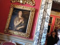 Penitenza nel Palazzo Pitti (alieryth) Tags: travel italy sunset art painting renaissance museums tiziano titien peinture rinascimento florence firenze palazzo pitti