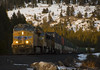 Late Afternoon Z at Soda Springs (Patrick Dirden) Tags: up7744 c45accte gevo ge generalelectric diesel locomotive engine rail railroad train stacktrain containertrain up unionpacific unionpacificrailroad uprosevillesub sodasprings nevadacounty donnerpass donnersummit sierranevada sierra northerncalifornia california