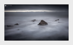 Detach (Stuart Leche) Tags: bigstopper clouds coast coastal hartog irishsea llandanwgbeach landscape longexposure mountains rocks sea seascape sky stuartleche sunset wales waves wwwstuartlechephotography