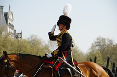 The Queen's 2018 Birthday gun salute - 11 (D.Ski) Tags: 2018 queens queen birthday gun salute royal park horse horses april westminster london nikon 2470mm 200500mm thekingstrooprha thekingstroop parade thequeen wellingtonarch hyde cornerhyde parkd700nikon d700