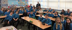 Visiting Cockenzie Primary School