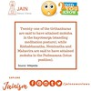 Did you Know? Share this Amazing Facts on #Jainism⠀ ⠀ Visit us on http://jainnewsviews.com⠀ ⠀ #jainism #facts #fact #monday #fridayfacts #news #jain #factsonfact #best #india #world #peace #religion #incredibleindia (Jain News Views) Tags: jainism