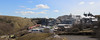 66 145 passing Brierlow Peakstone Quarry, Hindlow. (Marra Man) Tags: hindlow hindlowquarry hindlowlhoistquarry brierlowquarry peakstonequarry brierlowpeakstonequarry dbcargo class66 class660 66145 6h52 hats great panorama
