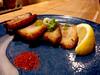 extra pork for my ramen (n.a.) Tags: matura ramen fried pork cayenne blue plate robson bidwell westend vancouver bc canada