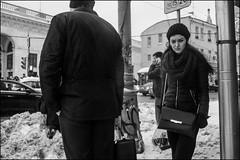 DR160302_0828D (dmitryzhkov) Tags: russia moscow documentary street life human monochrome reportage social public urban city photojournalism streetphotography people bw badweather dmitryryzhkov blackandwhite outdoor everyday candid stranger pretty woman