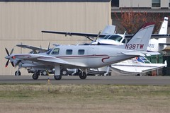 N38TW (LAXSPOTTER97) Tags: n38tw piper pa31t1 cheyenne i cn 31t8104008 william g hones airport aviation airplane kbfi