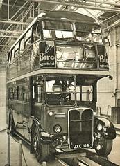 London transport RT741  seen after overhaul Aldenham works 1956. (Ledlon89) Tags: rt rtbus aecregent rtl leylandtitan leyland aec parkroyal lt lte londontransport aldenham aldenhamworks overhaul londonbus londonbuses bus buses london vintagebus 1950s