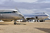 Convair 990 and Boeing 747SP (Ian E. Abbott) Tags: convair990 boeing 747sp n747a mojaveairspaceport mojaveairandspaceport mojaveairport kmhv mhv mojave boneyard airplanegraveyard aircraftstorage aircraftscrapping
