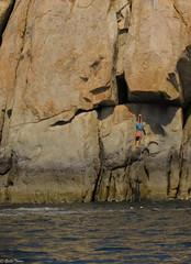 diver I (guilletho) Tags: diver mexico acapulco traditions traveling men tradiciones people plongeur rock cliff sea mar outdoors landscape clavadista