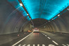 through the tunnel (Burak Kebapci) Tags: through tunnel under roa road street golf car vehicle white blue lights night lighthouse drive trip roadtrip lines vw