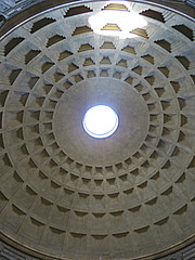 The Pantheon - 2nd trip (#4) (jimsawthat) Tags: ancient architecture architecturaldetails urban rome italy pantheon interior oculus