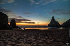 Ursa Beach at Sunset (Adrega) Tags: ifttt 500px sunset horizon over water dramatic sky coastline dusk twilight seascape beach dawn daybreak ocean nature photograph ursa sintra portugal sand beautiful