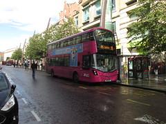 2114, Belfast, 11/09/17 (aecregent) Tags: belfast 110917 translink metro volvo b5tl wright gemini3 2114 fgz3114 11b