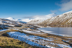At the end of the road... (ola_er) Tags: loch lyon glen hills snow snowcapped landscape scotland perthshire