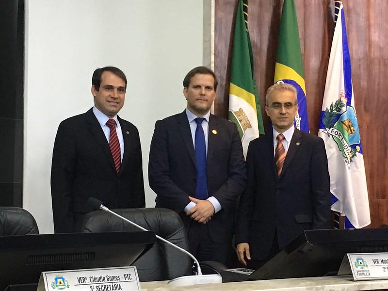 visita do presidente da Federação Nacional dos Policiais Federais, Luís Antônio Boudens.