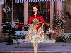 The Flower Shop (ksavoie1213) Tags: powerhouse ayumi fashionroyalty nuface 2015collection integritytoys fashiondolls benapl ravenhaired ayuminakamura dolls redlip