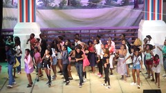 The End (prondis_in_kenya) Tags: kenya nairobi shortrains nationaltheatre performance grease musical dance video end finale light
