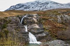 Scottish Highlands (Hans van der Boom) Tags: vacation holiday unitedkingdom scotland highlands mountains snow waterfall longexposure silk water schotland uk