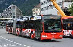 Chur, Bahnhofplatz 10.08.2017 (The STB) Tags: bus autobus autobús busse publictransport öpnv chur dieschweiz switzerland suisse