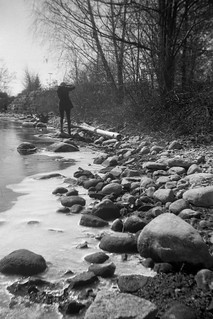 Rocks by the Otonabee River
